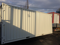 új konténerek konténercentrum